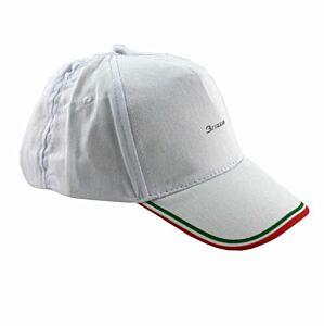 CAPPELLO VISIERA FLAG ITALIA 100% COTONE, BRIZZA, 0258
