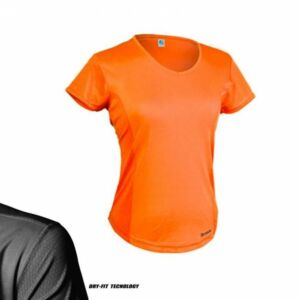 T-SHIRT DONNA DRY-FIT RUNNING E MULTISPORT, BRIZZA, 0261