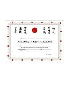 DIPLOMA DI GRADUAZIONE, 10 PEZZI, ORIENTE SPORT, OS831