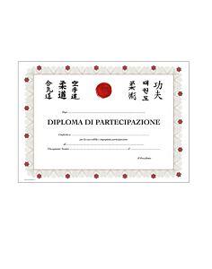DIPLOMA DI PARTECIPAZIONE, 10 PEZZI, ORIENTE SPORT, OS833