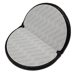 ARGENT FIT, fitfeet con argento antibatterico poggia piedi, nero/grigio