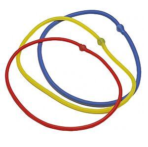 ELASTICO TUBING AD ANELLO / 4 colori per 4 intensità