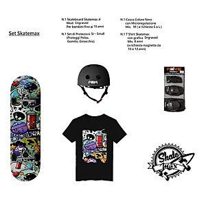 Set JUNIOR Skateboard ENGRAVED