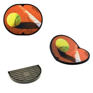 FITFEET for Sport, tappetino personalizzato TENNIS, in microfibra