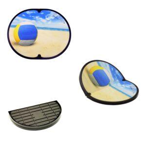 FITFEET for Sport, tappetino personalizzato VOLLEY, in microfibra