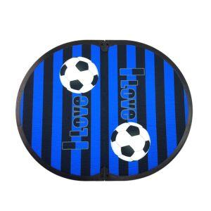 FITFEET Soccer Mania, tappetino personalizzato NERO/BLU, in microfibra