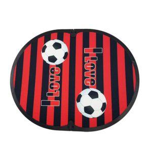 FITFEET Soccer Mania, tappetino personalizzato ROSSO/NERO, in microfibra