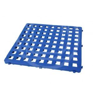 GRATICCIO COMPONIBILE IN PLASTICA, COLORE BLU, 50x50 cm, ARTISPORT, S883/B
