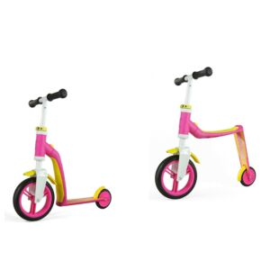 MONOPATTINO-BIKE 2 IN 1, BABY SCOOT AND RIDE, ROSA, F4QDBAP