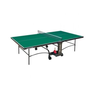 TAVOLO PING PONG ADVANCE INDOOR, PIANO VERDE, GARLANDO, GAC276I