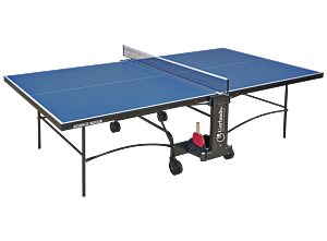 TAVOLO PING PONG ADVANCE INDOOR, PIANO BLU, GARLANDO, GAC277I