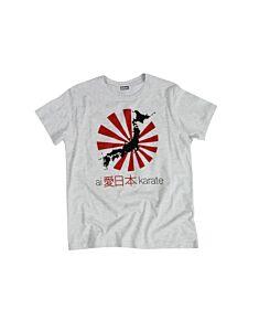 T-SHIRT PAGODA JAPAN KARATE, ORIENTE SPORT, OS3054-JAPAN
