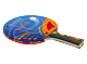 RACCHETTA PER PING PONG TWISTER, 5 STELLE, approvata ITTF, GARLANDO, GA2C4117
