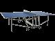 TAVOLO PING PONG PROGRESS INDOOR con ruote, PIANO BLU, GARLANDO, GAC163I